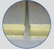 Profiled Composite Panels (ETF-RF 30/250)